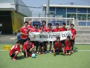 優勝WING U-18